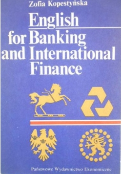 English for baking and international finance