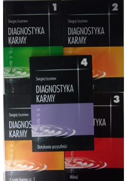 Diagnostyka karmy, zestaw 5 książek
