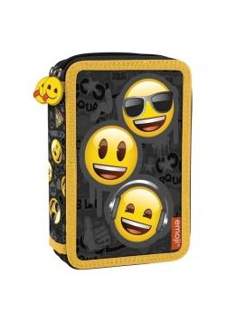 Piórnik dwukomorowy Emoji 10 DERFORM