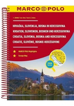 Atlas Chorwacja/Słowenia - 1:300 000 MARCO POLO