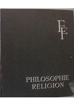 Philosophie religion Tome XIX