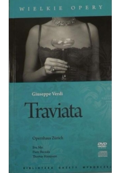Traviata , Wilelkie Opery, DVD + CD