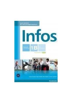 Infos 1B podręcznik z ćwiczeniami+CD PEARSON, Nowa