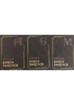 Wielka księga świętych 1-3, 3 książki