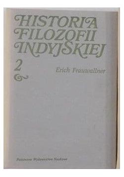 Historia filozofii indyjskiej, tom II