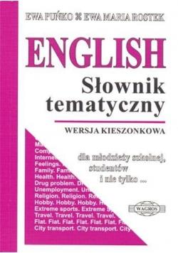 English. Słownik tematyczny kieszonkowy WAGROS