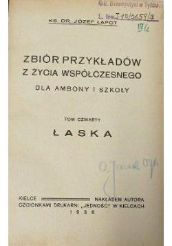 Zbiór przykładów z życia współczesnego dla ambony i szkoły, 1936 r.