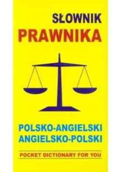 Słownik prawnika. Pol-ang, ang-pol