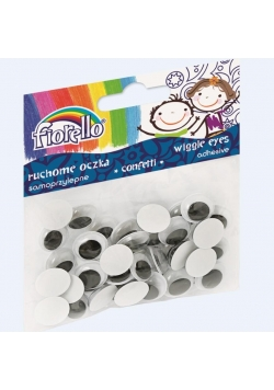 Confetti oczka samoprzylepne GR-KE40-15 FIORELLO