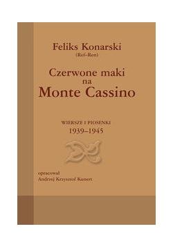 Czerwone maki na Monte Cassino