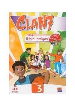 Clan 7 con Hola amigos 3 podręcznik + CD