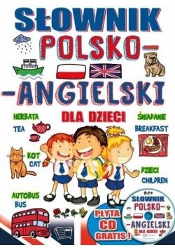 Słownik polsko-angielski dla dzieci + płyta CD
