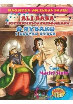 Magiczna Kolekcja Bajek T.4 Ali Baba/O rybaku..+CD