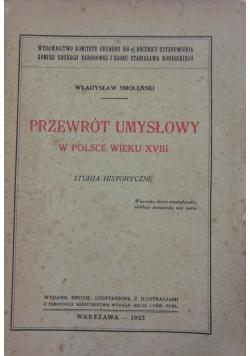Przewrót umysłowy w Polsce wieku XVIII, 1923 r.