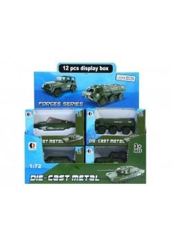 Auto wojskowe metalowe