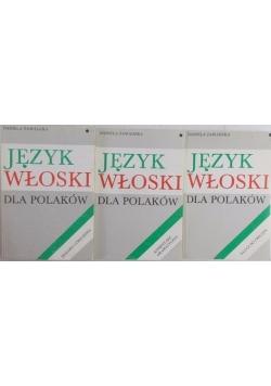Język włoski dla polaków, Tom I- III