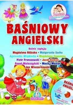 Baśniowy angielski + CD