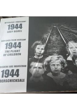 Wypędzeni z Warszawy 1944 Losy dzieci