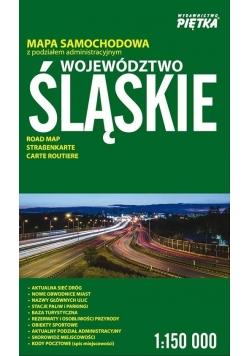 Województwo Śląskie 1:150 000 mapa samochodowa