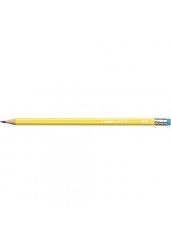 Ołówek 160 z gumką HB żółty (12szt) STABILO