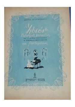 Zbiór łatwych sonatin,1950r