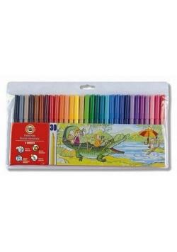 Flamastry 30 kolorów KOH-I-NOOR