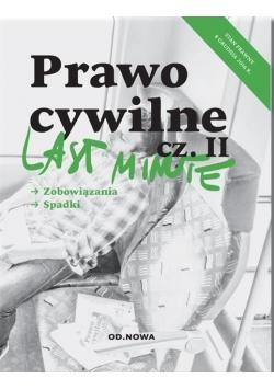 Last minute Prawo cywilne Część 2 wyd.2