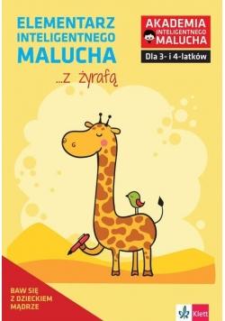 Elementarz inteligentnego malucha z żyrafą 3-4 lat