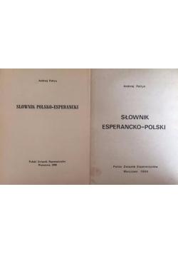 Słownik polsko-esperancki / słownik esperancko-polski