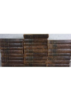 Universal-Lexikon der Gegenwart und Vergangenheit oder neuestes encyclopadisches Worterbuch,  24 tomy, 1845 r.