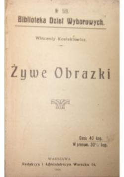 Żywe Obrazki, 1908r.