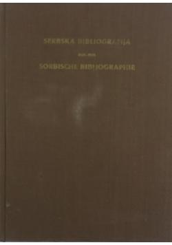 Serbska bibliografia