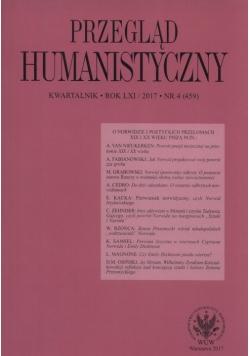 Przegląd Humanistyczny 4/2017
