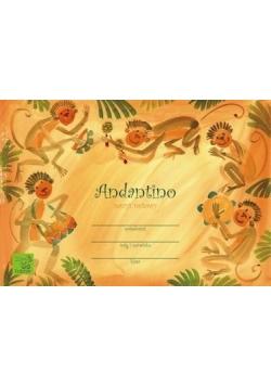 Zeszyt nutowy - Andantino