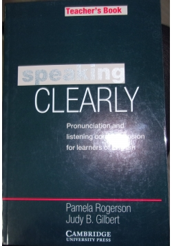 Speaking Cleary