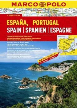 Atlas Hiszpania/Portugalia SPIRALA - MARCO POLO