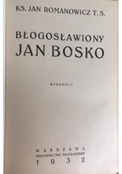 Błogosławiony Jan Bosko, 1932 r.