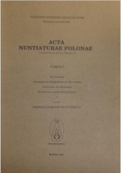 Acta Nuntlaturae Polonae