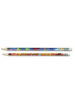 Ołówek grafit. z gum. 1231/SA safari (36szt)