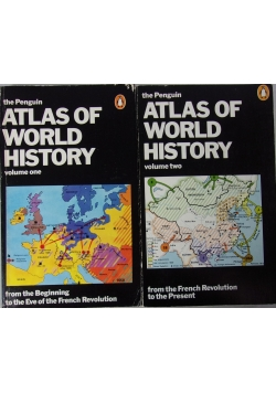 The Penguin atlas of world history, vol. 1 and 2