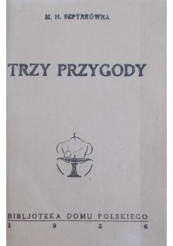 Trzy przygody, 1926r.