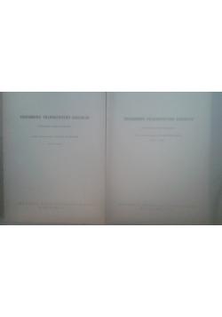 Posoborowe prawodawstwo kościelne, tom III - zeszyt 2,  tom IV - zeszyt 3