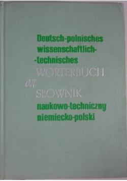 Słownik naukowo-techniczny, niemiecko-polski