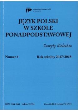 Język polski w szkole ponadpodst. nr 4 2017/2018