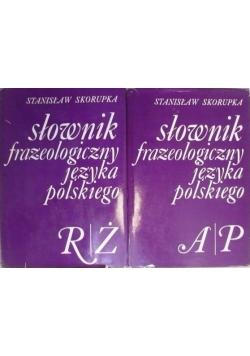 Słownik frazeologiczny języka polskiego, Tom I-II