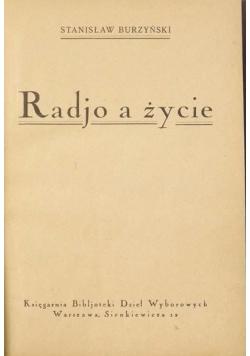 Radjo a życie, 1925 r.