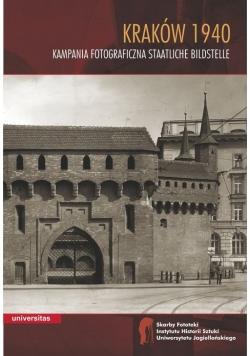 Kraków 1940 Kampania fotograficzna Staatliche Bildstelle