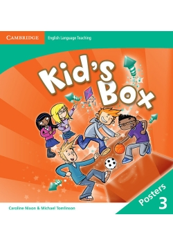 Kid's Box Level 3 Posters (8)