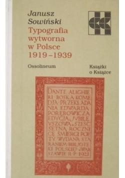 Typografia wytworna w Polsce 1919-1939