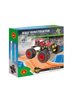 Mały konstruktor Monster Truck - Crusher ALEX